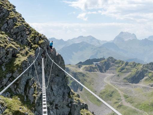 Fantastischer neuer Klettersteig